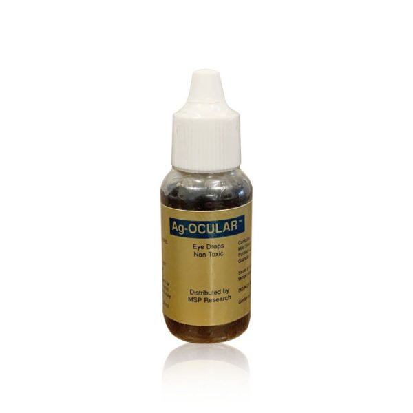 an image of mild silver protein eye drops